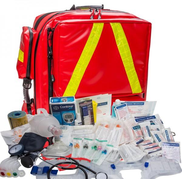 Notfallrucksack XL mit Füllung MBS Professional Responder