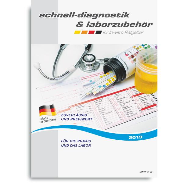 Katalog Schnelldiagnostik und Laborzubehör