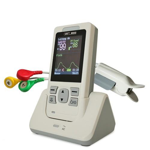 RESCUE-Monitor M800 EKG & Pulsoximeter in einem Gerät