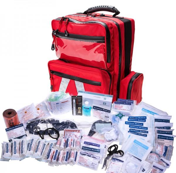 Notfallrucksack MBS Professional mit Füllung FEUERWEHR nach DIN 14142