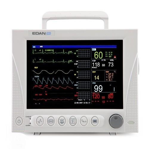 EDAN iM8B Patientenmonitor - Multiparameter (10,2 Zoll) EKG, SPO2, NIBP