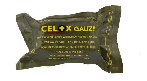 Celox™ Gauze Mullbinde 7,6cmx 3m