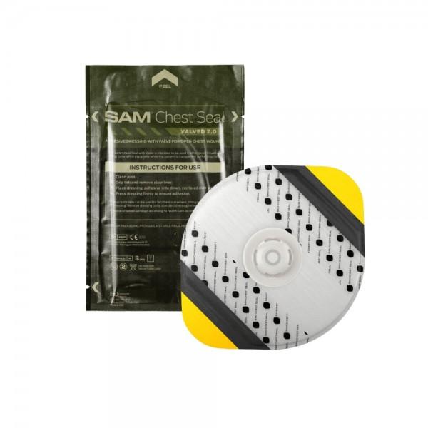SAM® Chest Seal mit Ventil 1 Stk