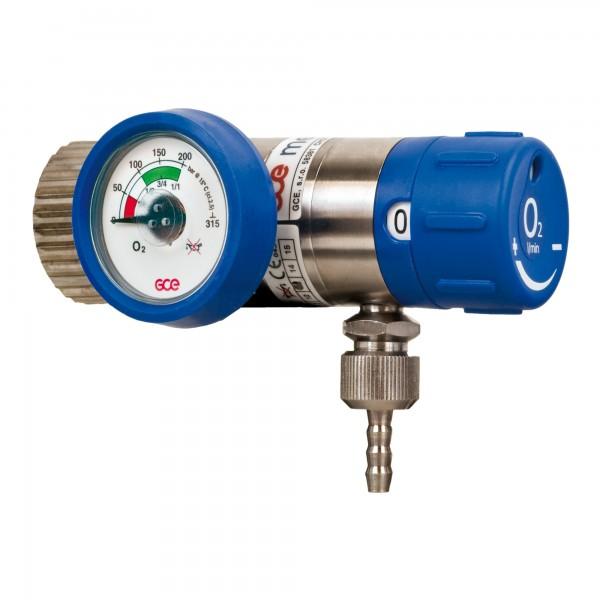 Druckminderer GCE Mediselect regelbar 0-25 Liter/min WARTUNGSFREI
