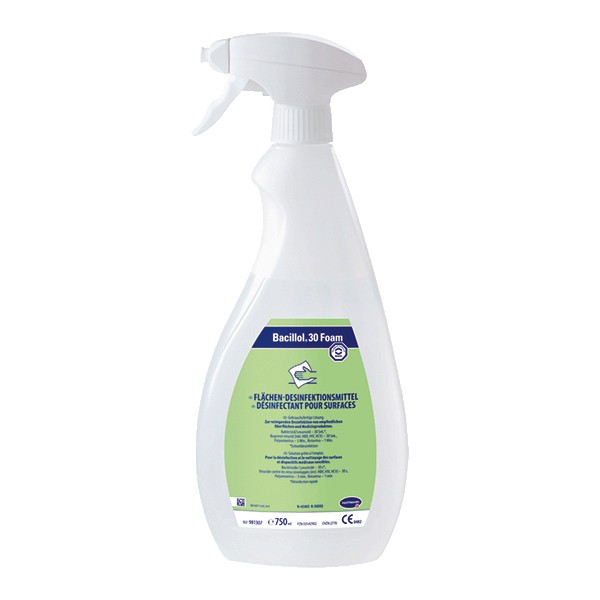 Bacillol 30 Foam 750 ml Sprühflasche Flächendesinfektionsmittel