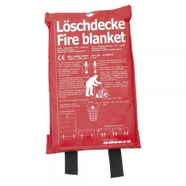 Löschdecke EN 1869, 1.000 x 1.000 mm