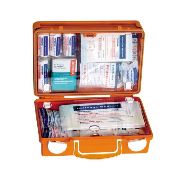 Erste Hilfe Koffer QUICK, 26x17x11cm Füllung DIN 13157