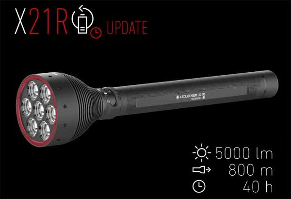 led lenser x21r update
