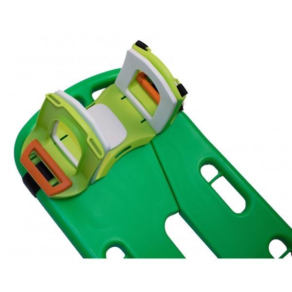 MBS COMBI-STRETCHER - Spineboard und Schaufeltrage in einem Gerät