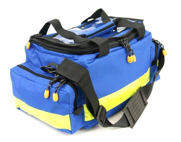 Bereitschaftstasche MBS Medium blau mit Füllung Pflege Spezial