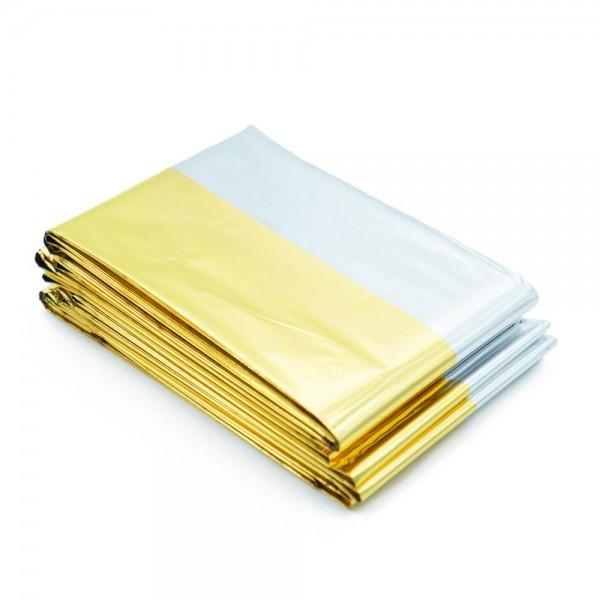 Rettungsdecke gold/silber - Isolierdecke