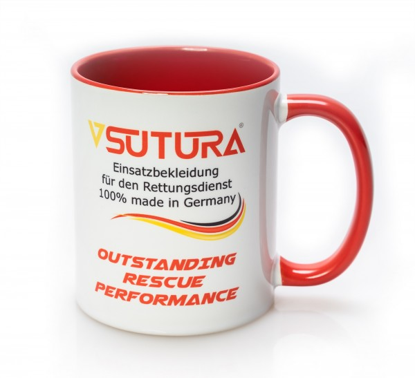 SUTURA® Keramiktasse mit Aufruck