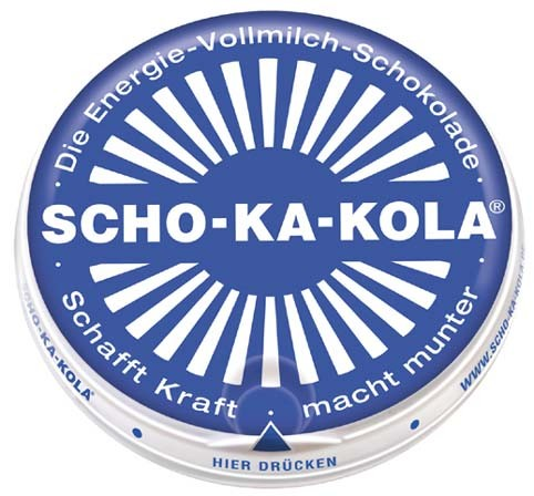 Energie Vollmilchschokolade SCHO-KA-KOLA 100 g