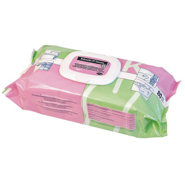 Kohrsolin FF Tissues - Wischdesinfektionstücher - 80 Stk/Pack