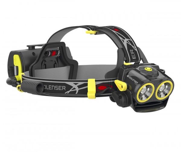 LED LENSER® iXEO19R - hochleistungs Stirnlampe mit Akku und 2000 lm