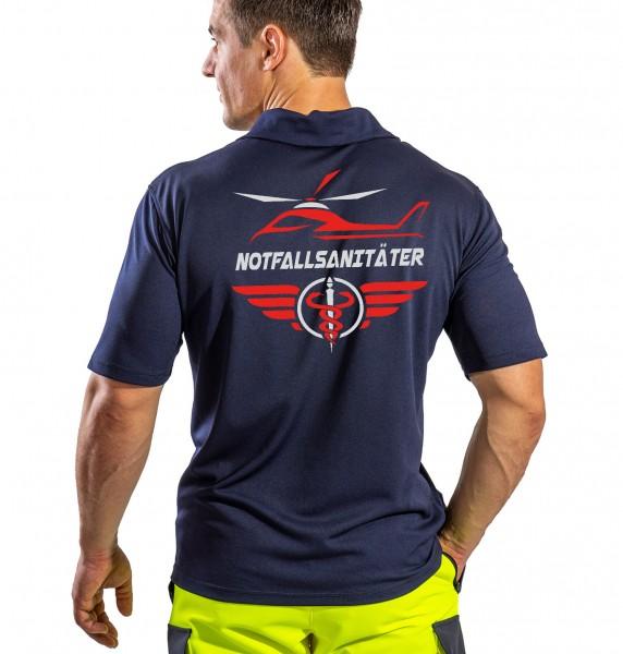 SUTURA Polo-Shirt - Air-Master Logo mit NOTFALLSANITÄTER
