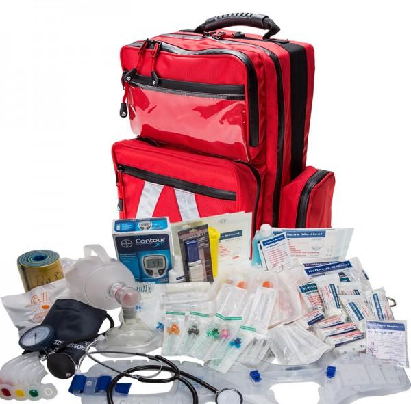 Notfallrucksack MBS Professional mit Füllung DIN 13155 SAN
