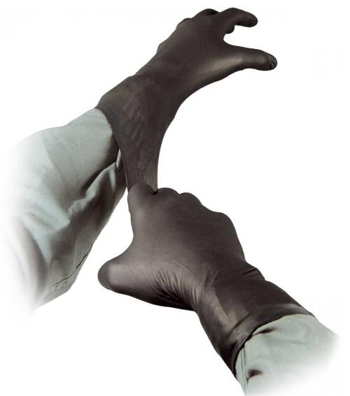 schwarze TALON Handschuhe - 1 Paar - einzeln