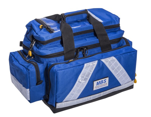 Notfalltasche MBS ADVANCED PRO-X Teflon Waterstop blau