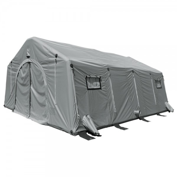 Losberger Airshelter Trendline TL50 - Farbe rot -aufblasbares Schnelleinsatz-Zelt