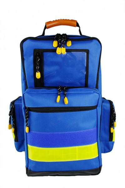 Notfallrucksack MBS Professional Medtex blau