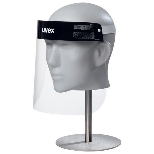 uvex 9710 PET Gesichtsschutz Faceshield light