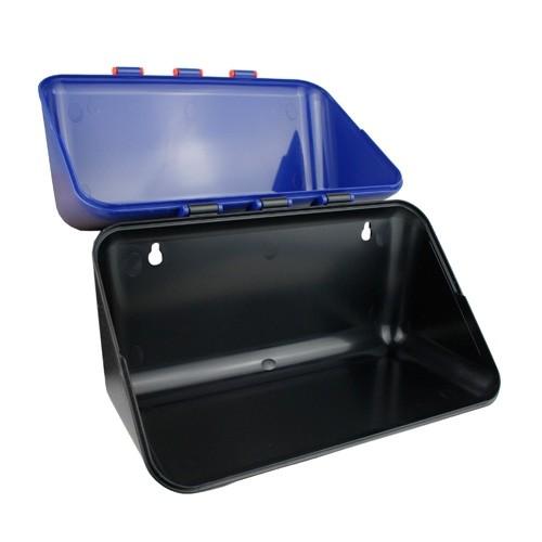 Wandbox 290 klein blau/schwarz für Schutzbrillen