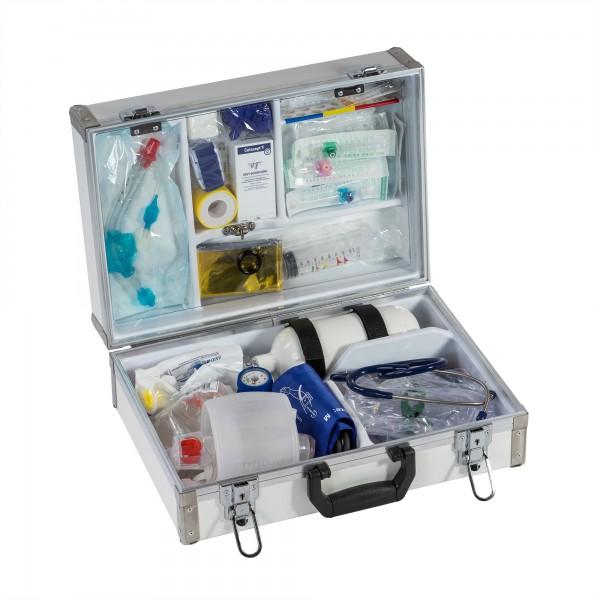 Notfallkoffer mit Füllung Zahnarztpraxis Eurosafe