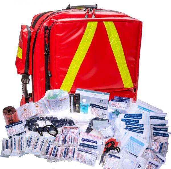 Notfallrucksack XL mit Füllung nach DIN 14142 FEUERWEHR