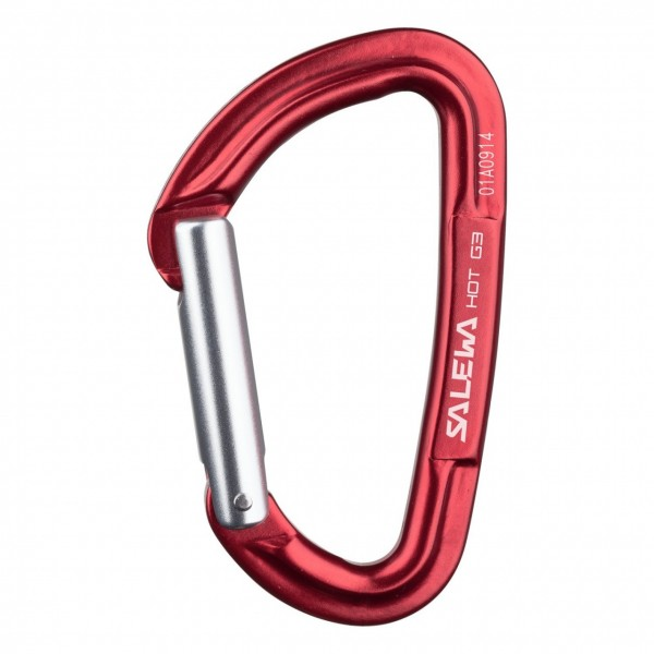 Salewa Karabiner 'HOT G3' - straight rot