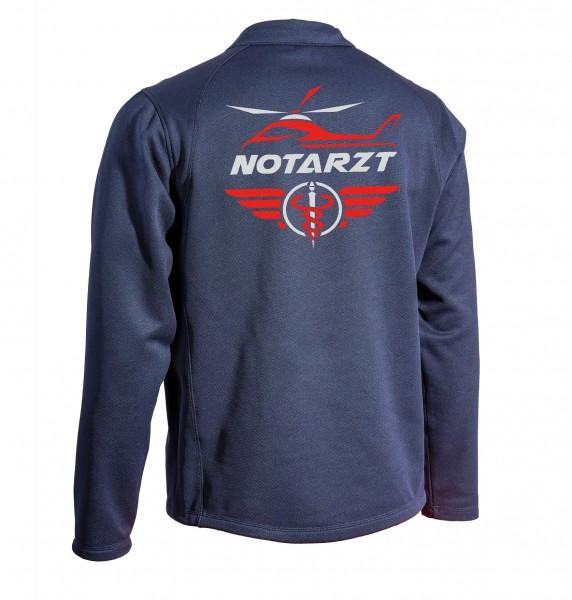 SUTURA Long-Sleve - Langarmshirt - mit Air-Master Logo und NOTARZT Schriftzug