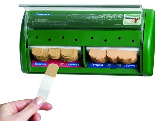 Salvequick® -Pflasterspender gefüllt