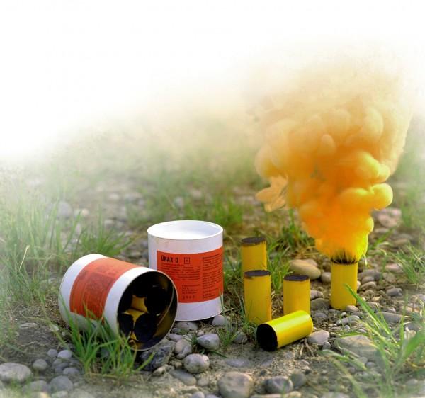 Rauchpatronen - 5 Patronen, orange