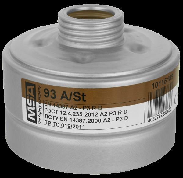 MSA Kombifilter mit Rundgewinde A+P3 (entspricht FFP3)