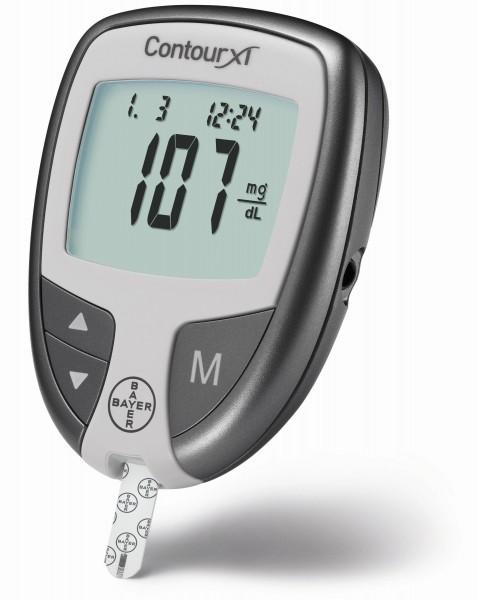 Bayer Blutzuckermessgerät Contour XT mg/dl