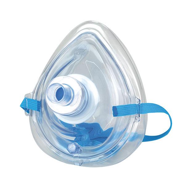 MBS Taschen-Beatmungsmaske mit Filter und Handschuhen