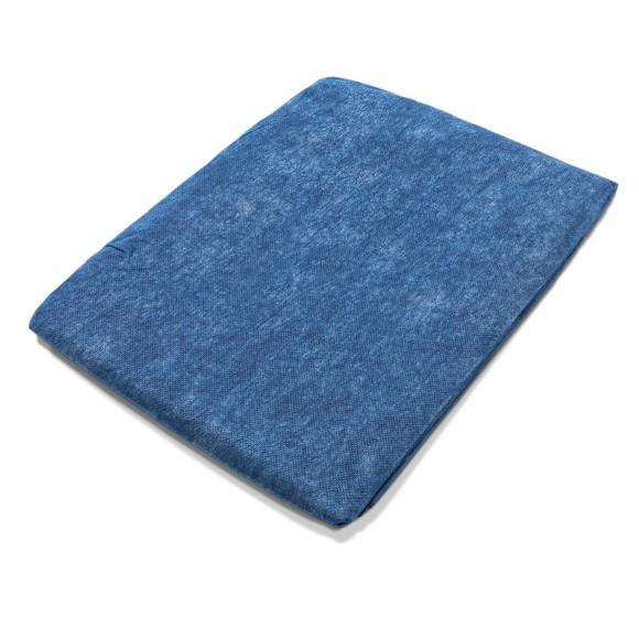 Einmaldecke blau wattiert 300 g