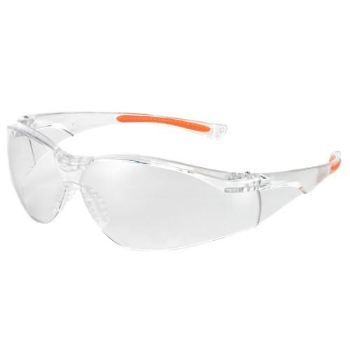 UNIVET medizinische Schutzbrille 513 Klar/Orange