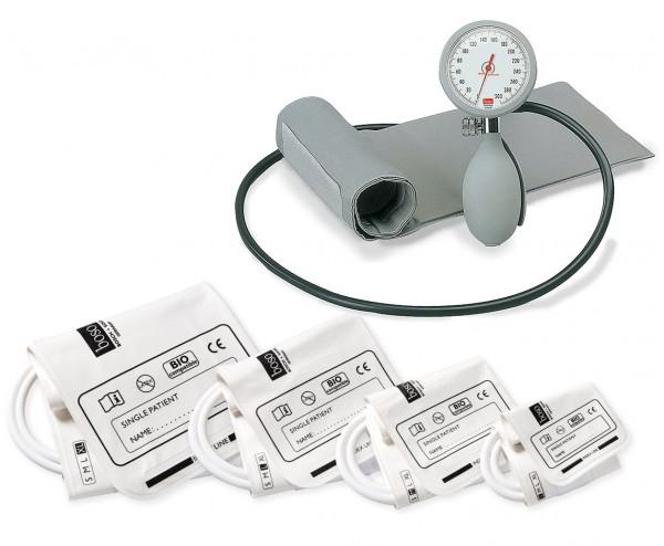BOSO KI Blutdruckmessgeräte Set mit 5 Manschetten S bis XL