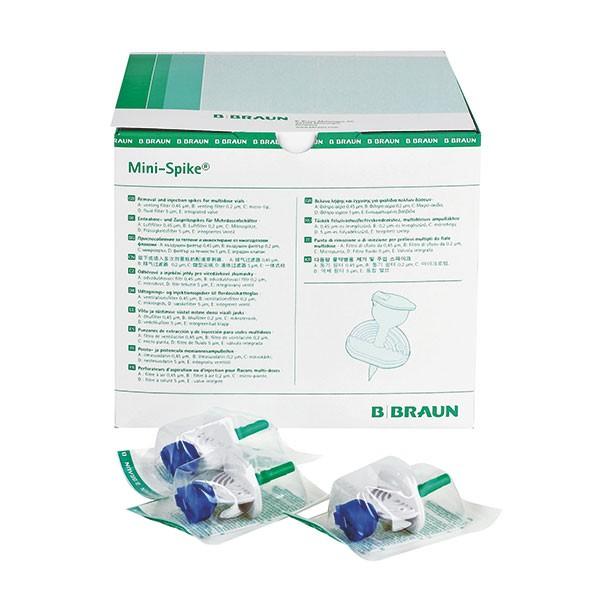 B.Braun Mini-Spike® Entnahmekanüle mit Filter