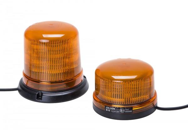 LED Rundumkennleuchte B16 gelb, Magnetkennleuchte bis 250 km/h