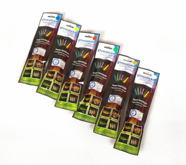 Knicklichter 15cm - verschiedene Farben verfügbar