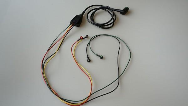 EKG Stammkabel mit Extremitätenableitungen von Medtronic Physio Con