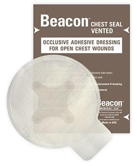 Beacon™ Chestseal Thorax Pflaster mit Ventilen