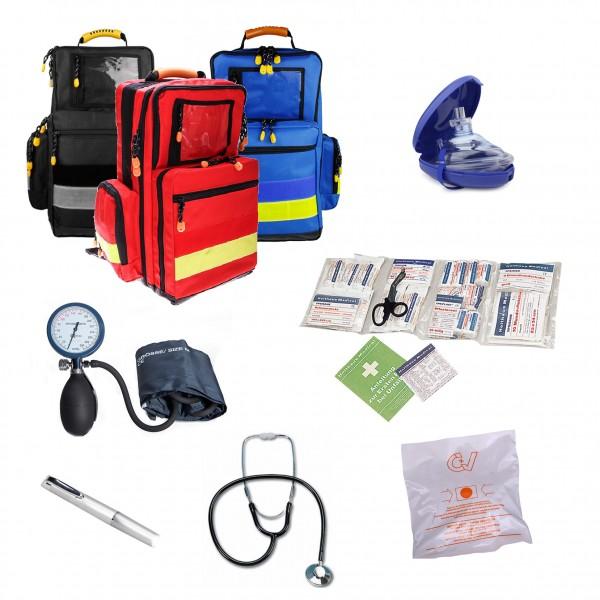 Notfallrucksack MBS professional mit Füllung Betriebs-Erst-Helfer