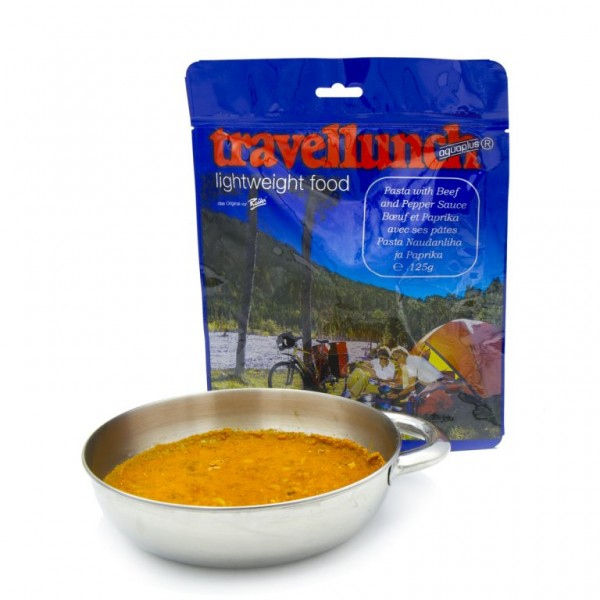 Travellunch - Nudeln mit Rindfleisch und Paprikasauce á 125 g