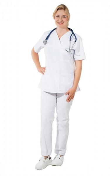 SUTURA Pflege, OP und Klinik Schlupfhose weiß unisex