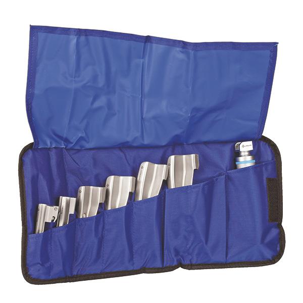 Rolltasche für Laryngoskop - blau