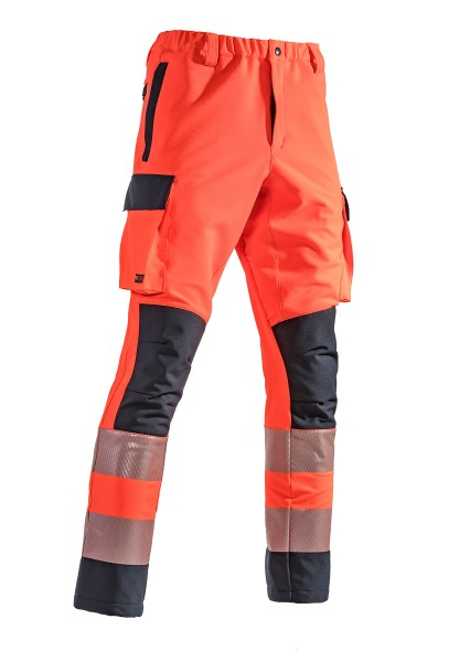 SUTURA® Einsatzhose - Modell OMEGA II tagesleuchtrot/marine