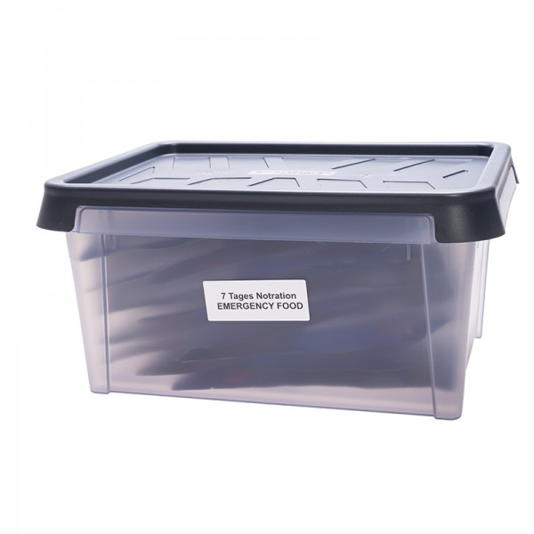 7 Tages Notration für eine Person in praktischer Box